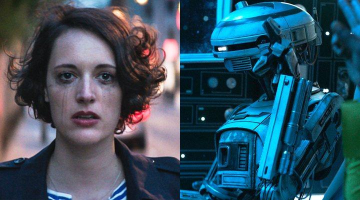 Phoebe Waller-Bridge en 'Han Solo: Una historia de Star Wars'