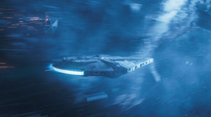 El Halcón Milenario en 'Han Solo: Una historia de Star Wars'