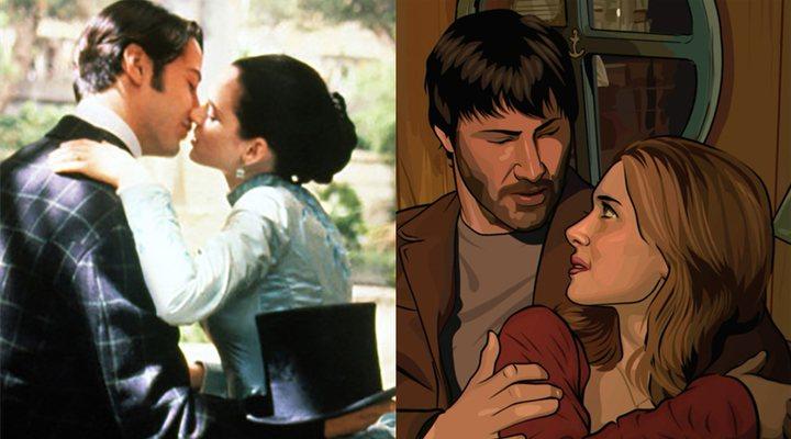 Keanu Reeves y Winona Ryder