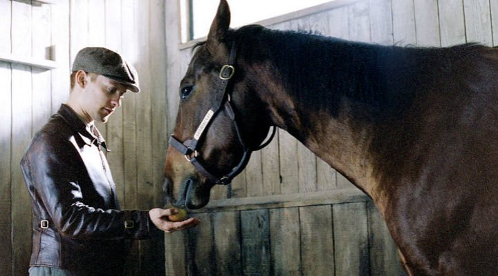 Tobey Maguire y Seabiscuit