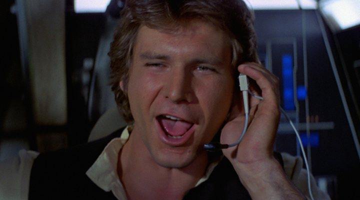 Harrison Ford como Han Solo en 'Star Wars'