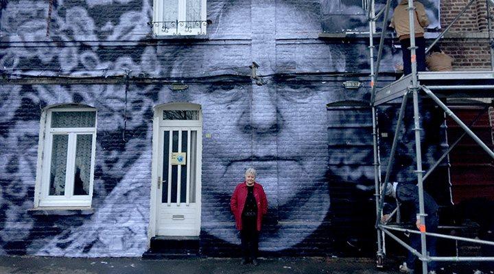 'Una de las mujeres retratadas en 'Caras y lugares''