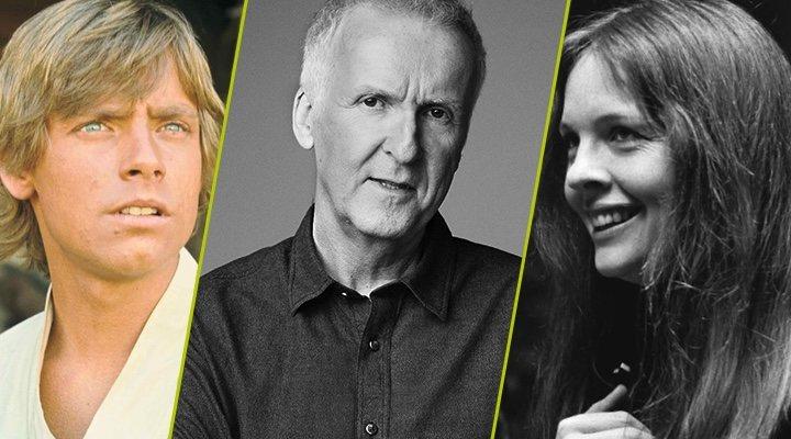 Mark Hamill en 'Star Wars', James Cameron, Diane Keaton en 'Annie Hall'