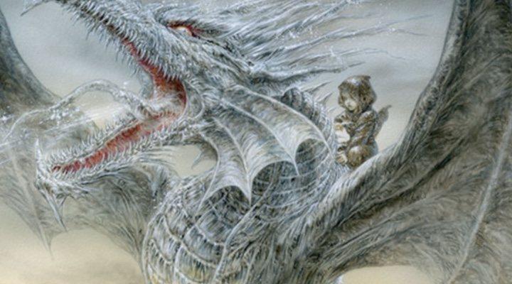 Portada 'El dragón de hielo'