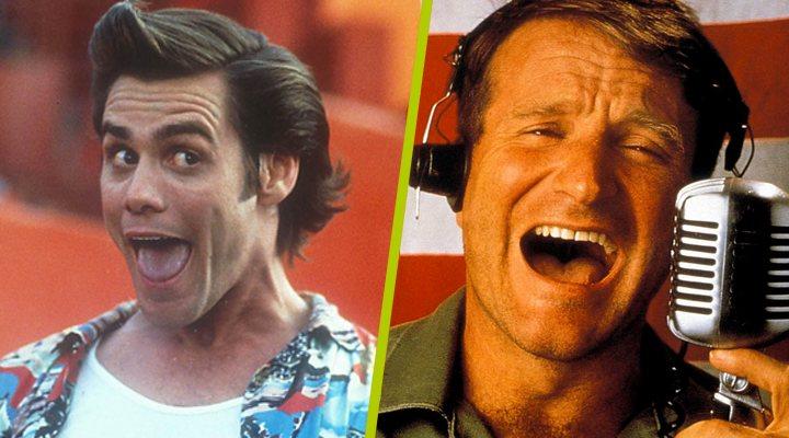 Jim Carrey y Robin Williams
