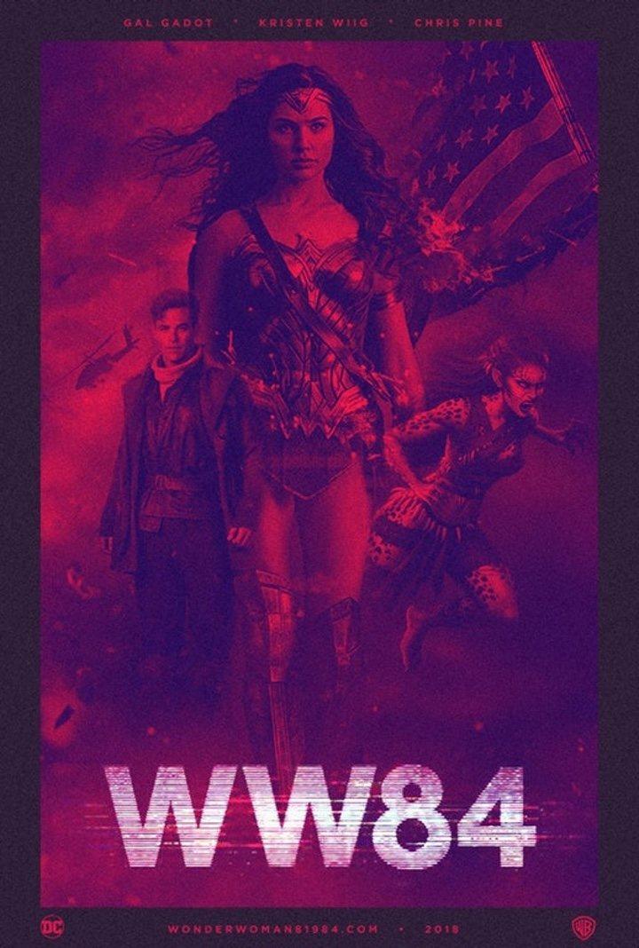 Póster fan 'Wonder Woman 2'