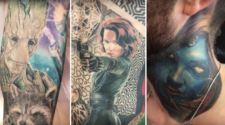 Tatuajes Marvel
