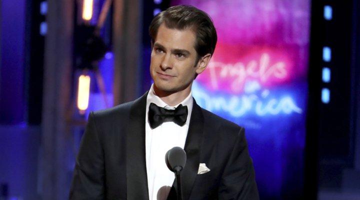 Andrew Garfield en los Tony Awards
