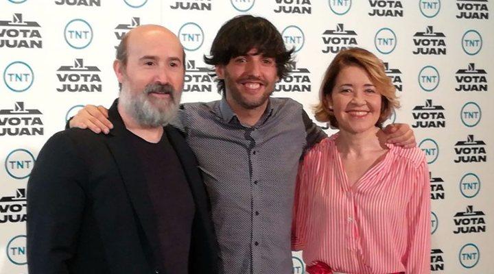 Javier Cámara, Diego San José y María Pujalte