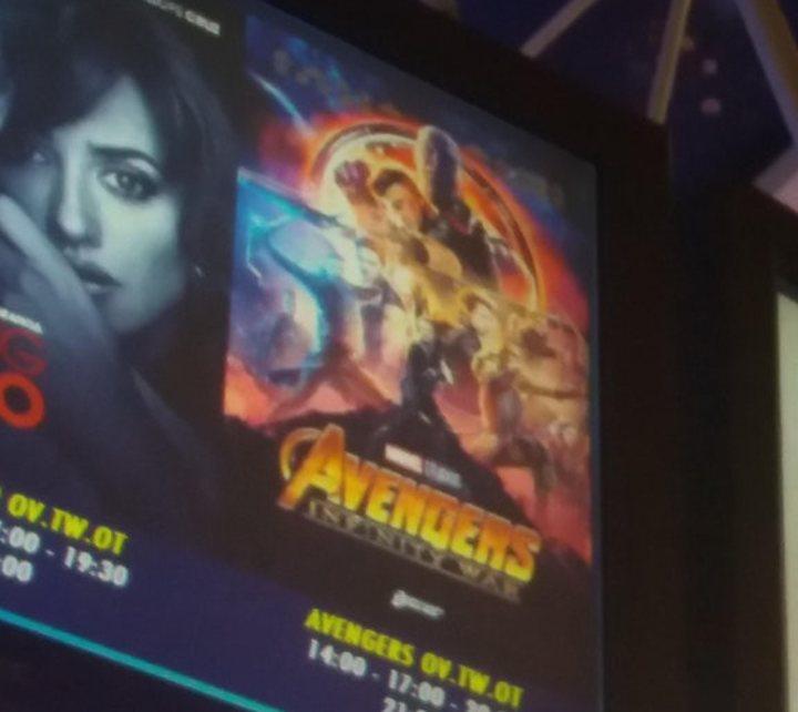 Póster fan de 'Vengadores: Infinity War'