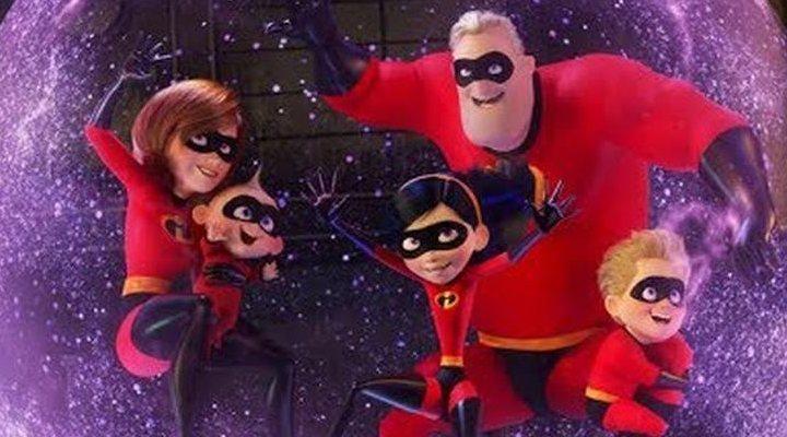 Increíbles 2 rompió récord taquillero para una película animada
