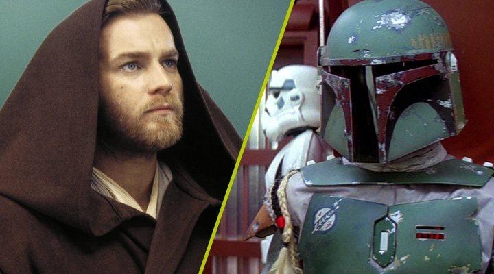 Ewan McGregor como Obi Wan Kenobi y Boba Fett