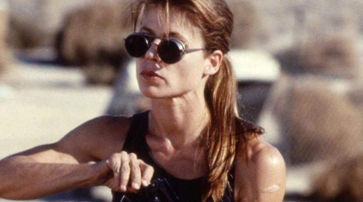 'Linda Hamilton en Terminator 2'