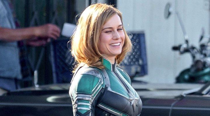 Brie Larson como Carol Danvers