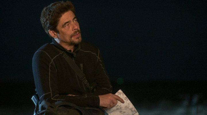Benicio del Toro como Alejandro en 'Sicario: El día del soldado'