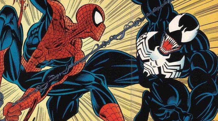 Spider-Man y Venom en los cómics