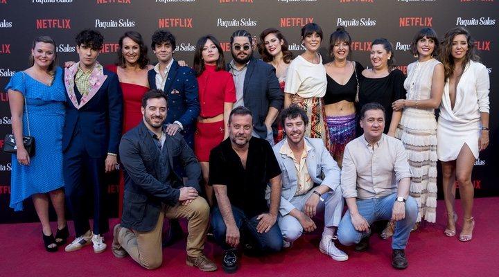 'Así fue la premiere de la segunda temporada de 'Paquita Salas' en Madrid'