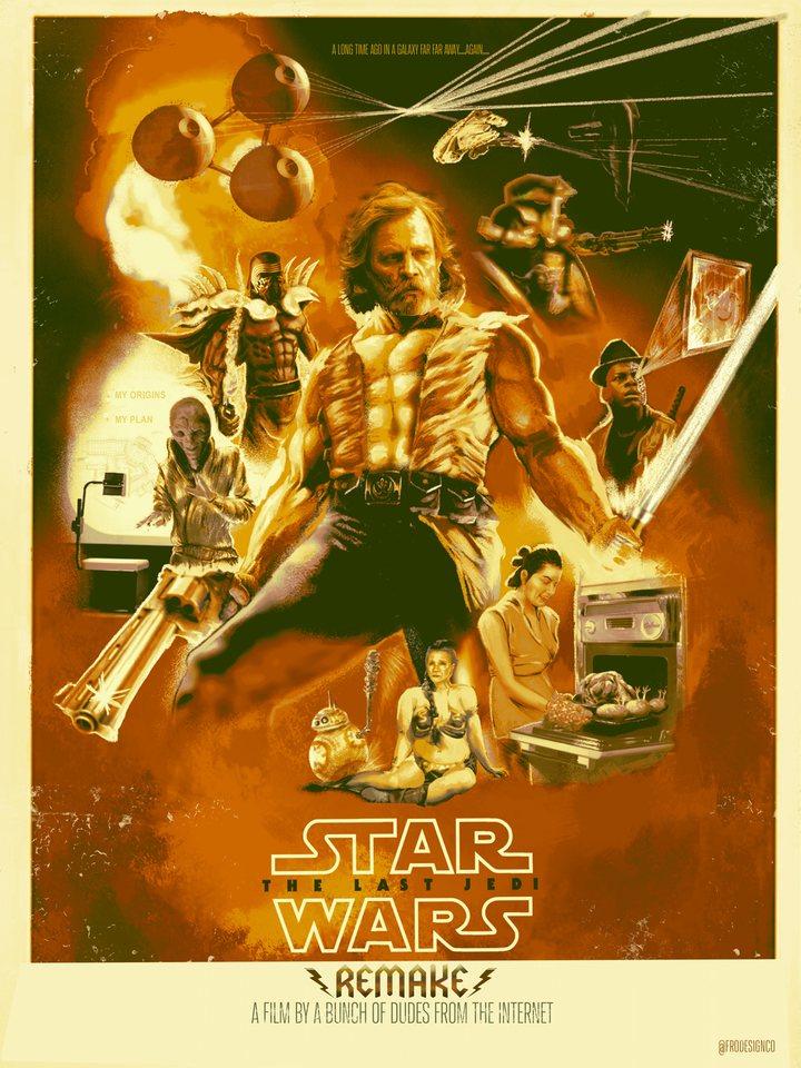 Remake de 'Los últimos Jedi'