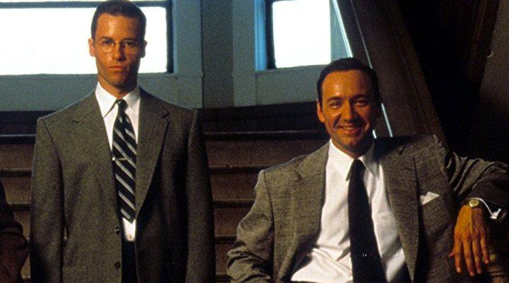 'Kevin Spacey y Guy Pearce en L.A. Confidential'
