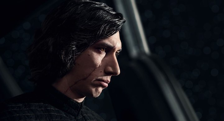 Adam Driver en 'Los últimos Jedi'