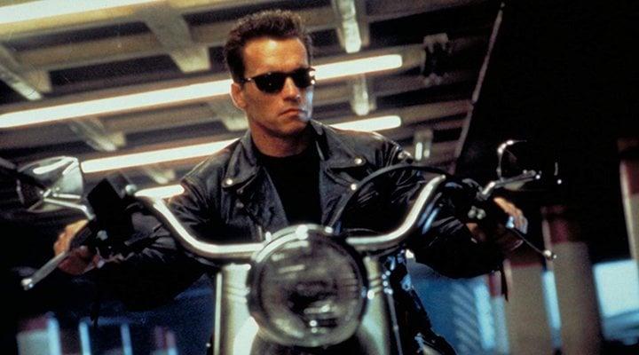 'Arnold Schwarzenegger en Terminator 2'