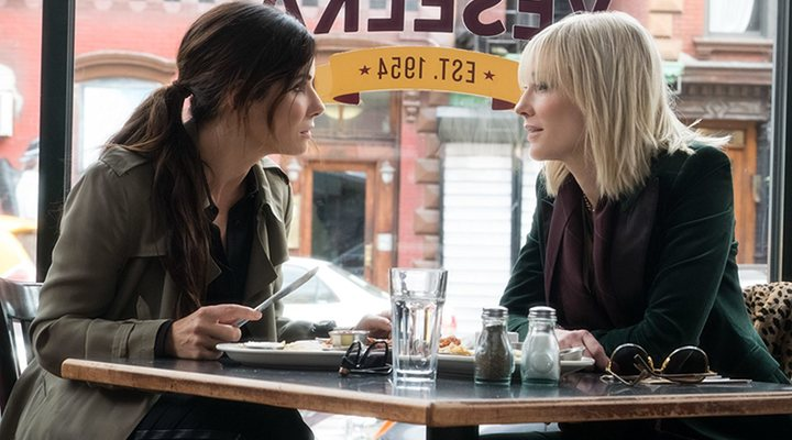 'Sandra Bullock y Cate Blanchett en Oceans 8'