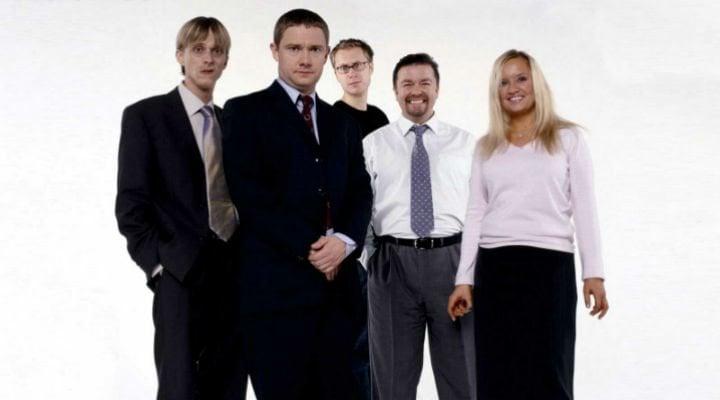 El reparto principal de 'The Office' (UK)
