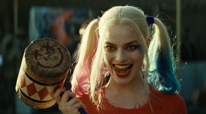 'Margot Robbie como Harley Quinn en Escuadrón Suicida'