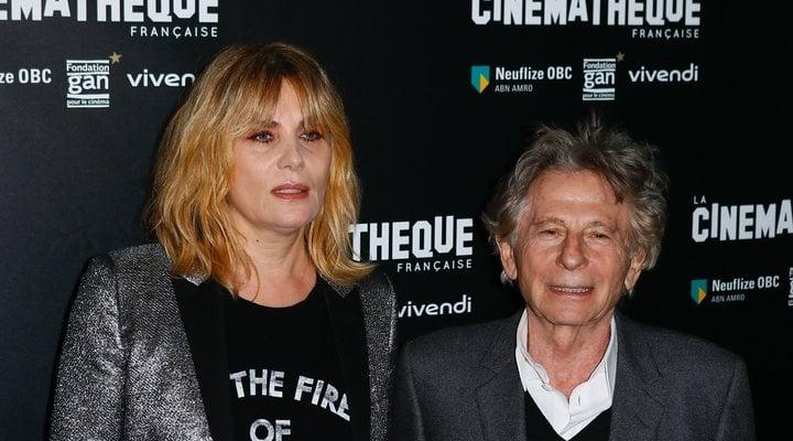 Emmanuelle Seigner y Roman Polanski