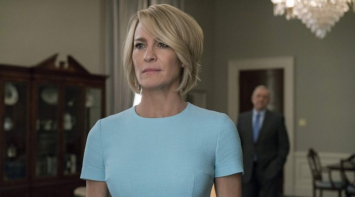 Robin Wright habló de Kevin Spacey: