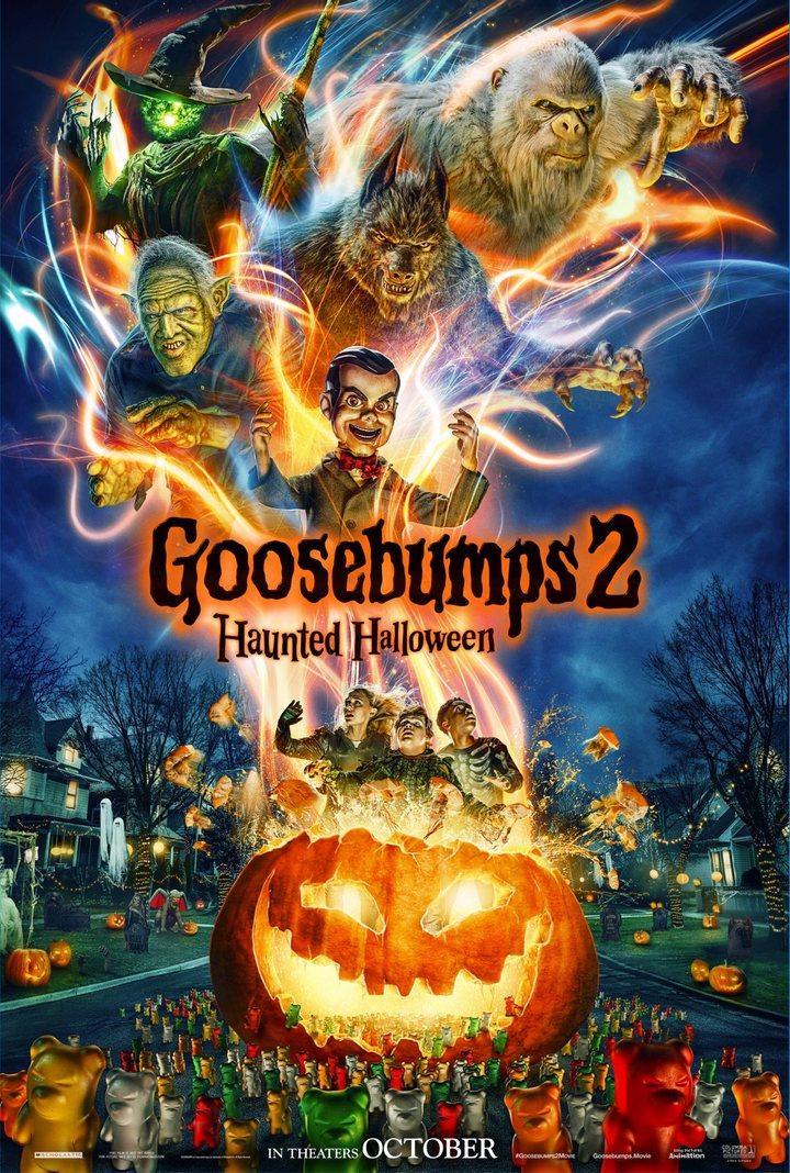 Póster de 'Pesadillas 2: Noche de Halloween'