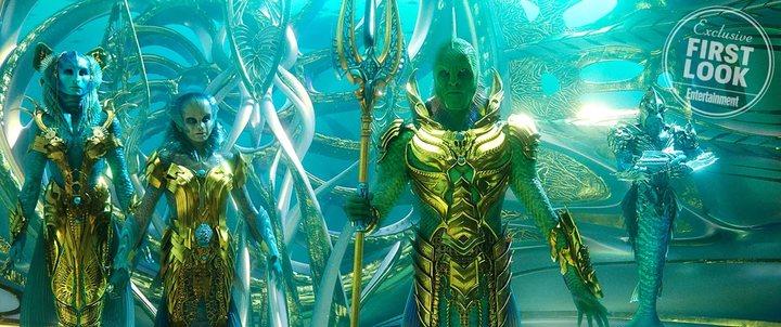 El Rey Pescador en 'Aquaman'