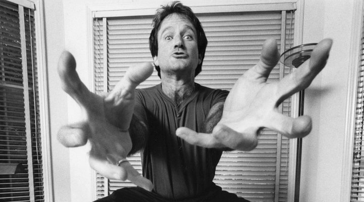 Robin Williams en el documental ''En la mente de Robin Williams''