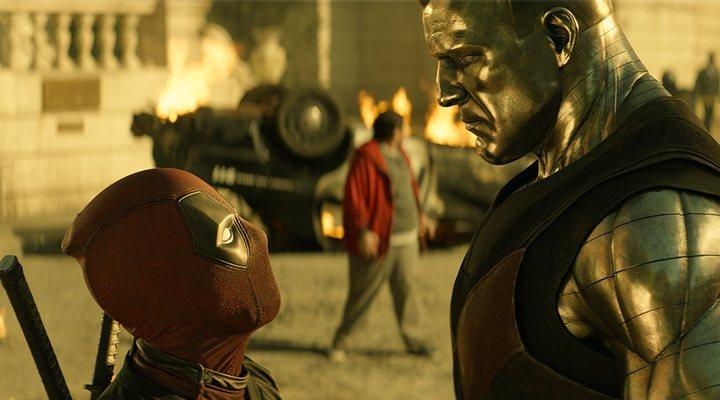 'Ryan Reynolds y Stefan Kapicic en Deadpool 2'
