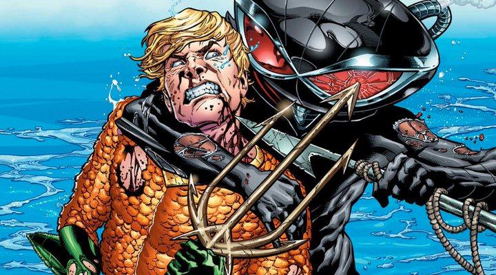 Black Manta y Aquaman en los cómics