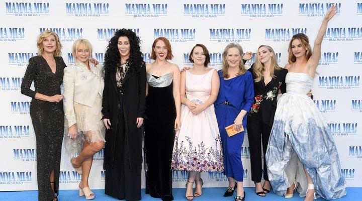 'Mamma Mia! Una y otra vez' Premiere