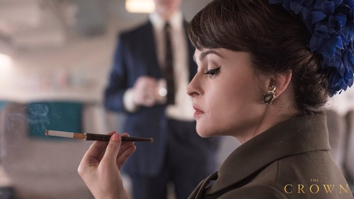 Así luce Helena Bonham Carter como la Princesa Margaret — The Crown