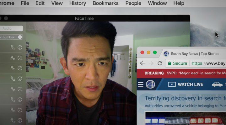 John Cho es David Kim en </p><p>'Searching'