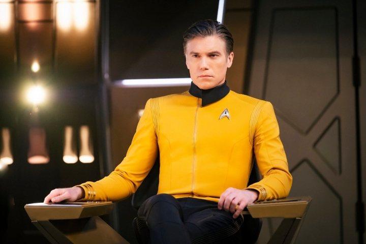 Primera imagen de Anson Mount como el Capitán Pike en 'Star Trek: Discovery'