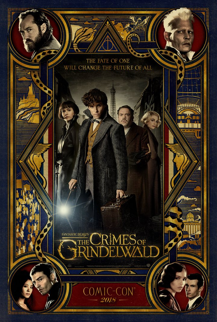 Póster 'Animales fantásticos: Los crímenes de Grindelwald'