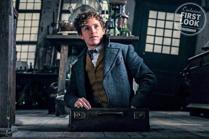 Eddie Redmayne en 'Animales fantásticos: Los crímenes de Grindelwald'
