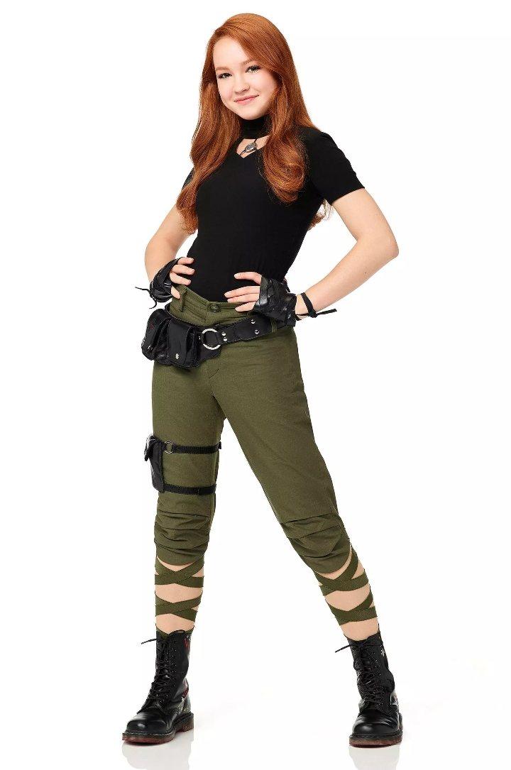 Sandie Stanley como Kim Possible para la película en acción real