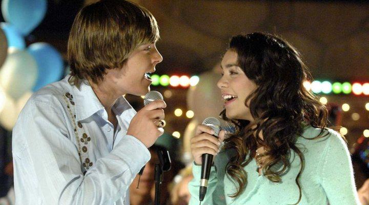Troy y Gabriella en 'High School Musical'
