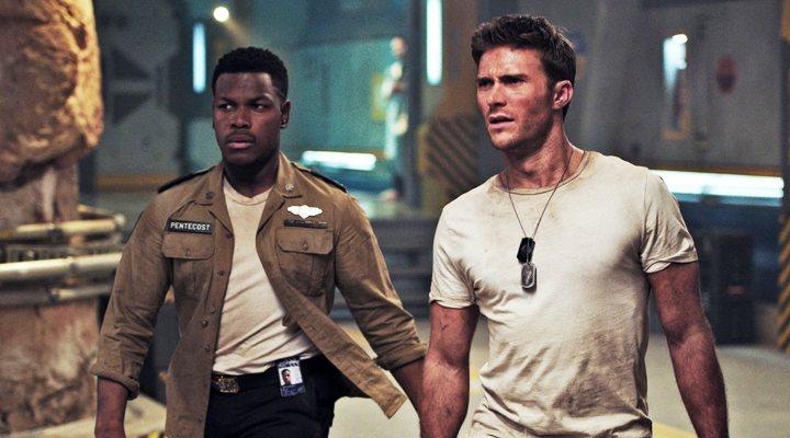'John Boyega y Scott Eastwood en Pacific Rim: Insurreccion'
