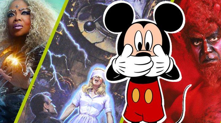 Películas extrañas de Disney