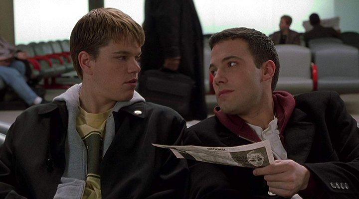 'Matt Damon y Ben Affleck en Dogma'