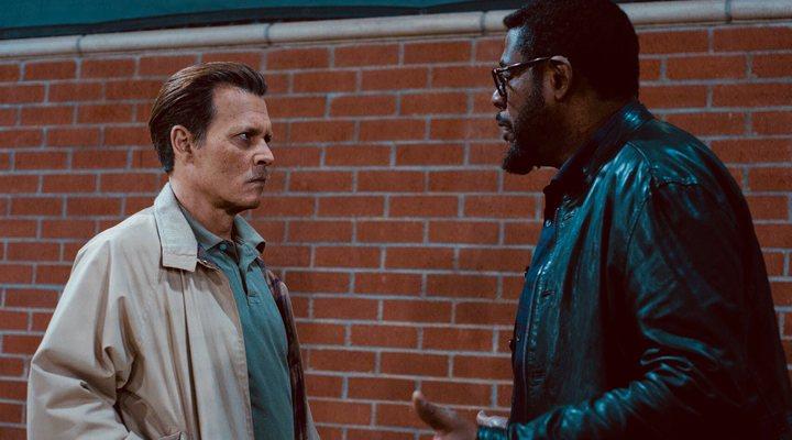 Johnny Depp y Forest Whitaker en 'City of Lies'