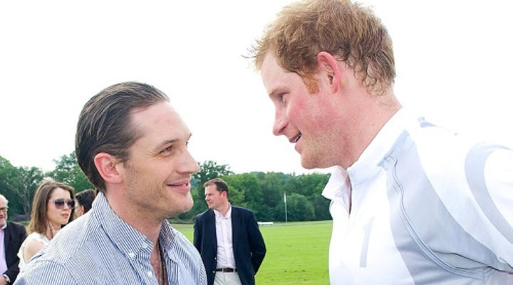 Tom Hardy y el príncipe Harry
