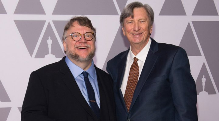 'John Bailey y Guillermo del Toro'