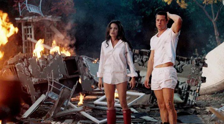 Jolie y Pitt en 'Sr. y Sra. Smith
